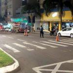 No sábado (25), a operação abordou 86 veículos com 23 tipos de infrações (Foto: Divulgação)