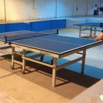O tênis de mesa é um dos esportes que menos contato as pessoas possuem umas com as outras, facilitando o cumprimento de protocolos (Foto: Divulgação)