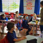 Imagem ilustrativa de alunos na sala de aula em Lajeado (Foto: Gabriela Hautrive)