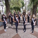 Candidatas do Miss Universo RS desfilam por Estrela