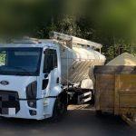 caminhão de ração
