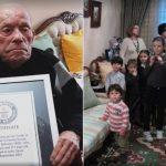 Saturnino de la Fuente García tem 112 anos e é o homem mais velho do mundo atualmente, segundo o Guinnes World Record (Foto: Reprodução/Guinness World Record)