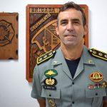 Coordenador-geral de Planejamento e Operações da Força Nacional de Segurança Pública, comandante José Américo de Souza Gaia (Foto: Gabriela Hautrive)