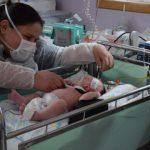 Ação ocorreu alusiva ao dia das crianças na UTI Neonatal do Hospital Estrela (Foto: Caroline Silva)