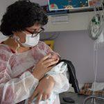 Tamara Brum de Souza, moradora de Osório, mãe de Ravi Onur Brum de Souza (Foto: Caroline Silva)