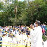 Missa de Nossa Senhora Aparecida é a terceira celebração realizada no Cristo Protetor