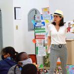 História foi interpretada pela servidora Marcia Oliveira Lima (Foto: Gabriela Hautrive)