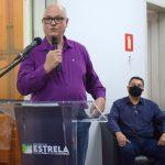 Administrador da Estação Rodoviária de Estrela, Nelson Noll (Foto: Gabriela Hautrive)