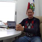 Secretário de Obras de Lajeado, Fabiano Bergmann (Foto: Luís Fernando Wagner)